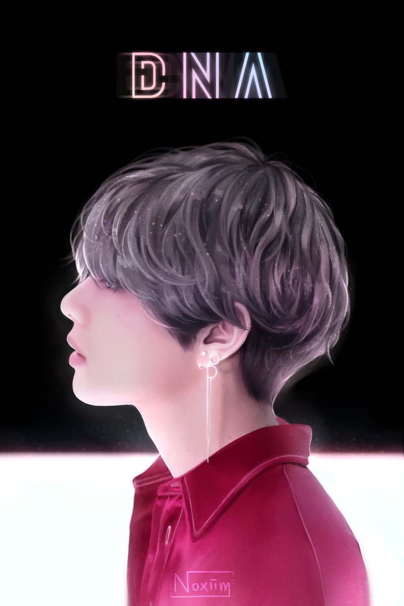 bts, taehyung, and DNA image