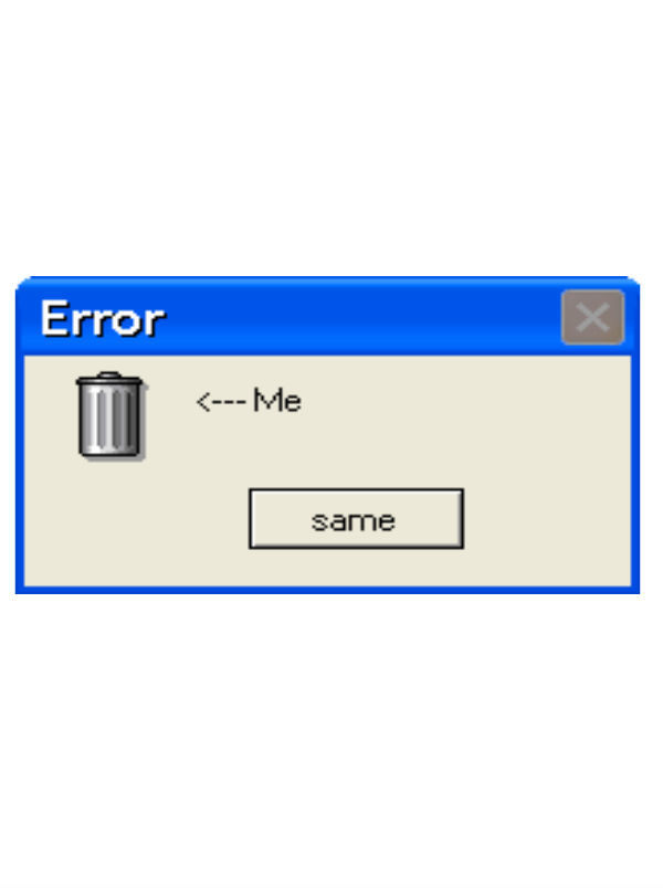 edit, error message, and overlay image