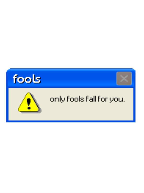 edit, error message, and fools image