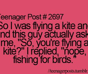 kite, teenager post, and bird image