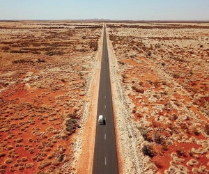 adventure, carretera, and desert image