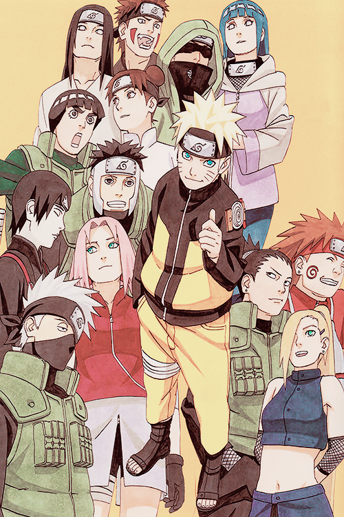 The Naruto Cast Shared By Maria On We Heart It