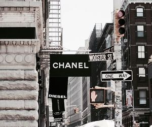 chanel, city, and brand image