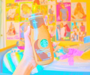 close up, starbucks, and vibrant image