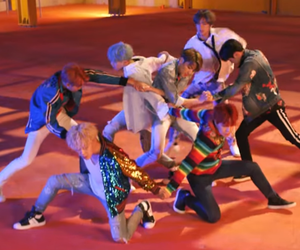 bts, DNA, and jin image