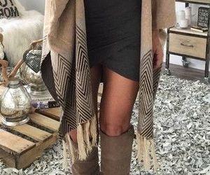 fashion, fall, and dress image