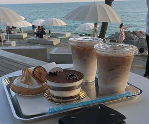 aesthetic, coffee, and dessert image
