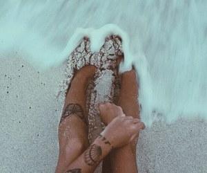 beach, sun, and body image