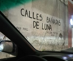 graffiti, guatemala, and luna image