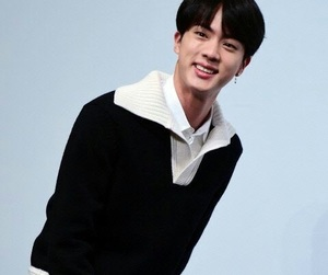 jin, bts, and DNA image