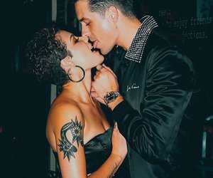 halsey, couple, and love image
