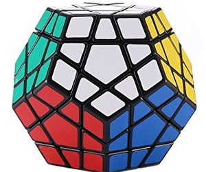 rubik cube and megaminx image
