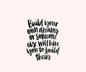 quotes, girl, and goals image