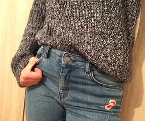 jean, mode, and pull image