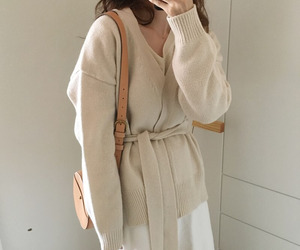fashion, beige, and asian image
