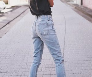 casual, fashion, and jeans image