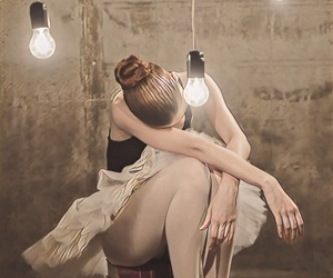 ballet, girl, and dane image