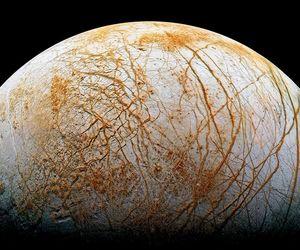 Europa, moon, and jupiter image