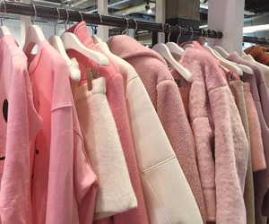pink, clothes, and pastel image