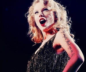 Taylor Swift, speak now, and concert image