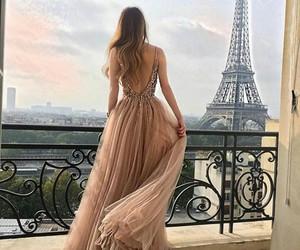 paris, fashion, and dress image