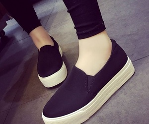 black, shoes, and zapatos image