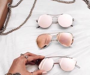 fashion, girls, and glasses image
