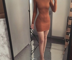 body, girl, and dress image