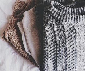 sweater, fashion, and autumn image