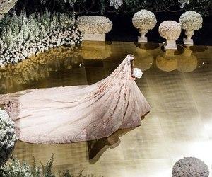 wedding, decoration, and dress image