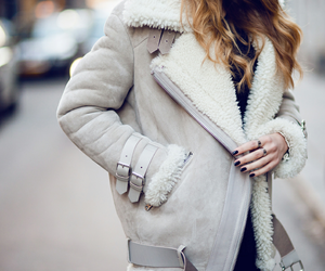fashion, winter, and jacket image