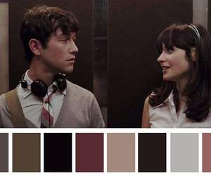 500 Days of Summer and colors image