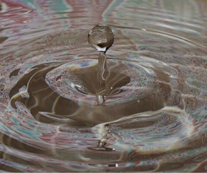 water, pink, and theme image