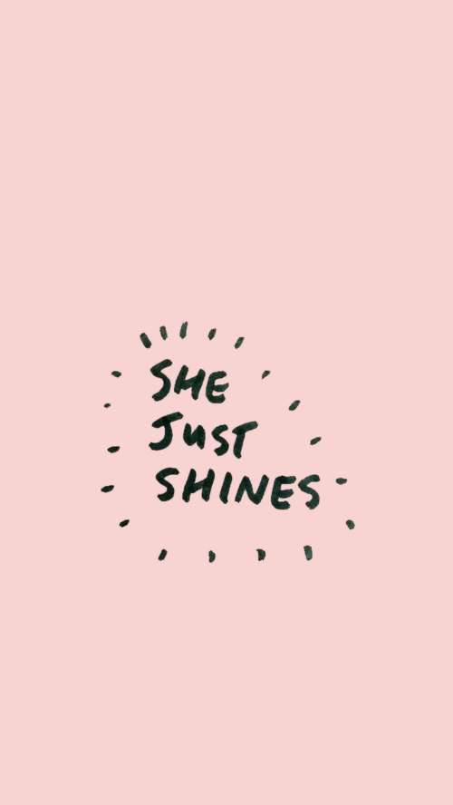 quotes, pink, and shine image