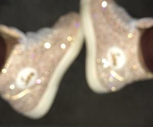 glitter, louboutin, and luxury image