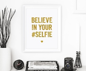 home decor, motivational quote, and wall art image