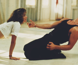dirty dancing, patrick swayze, and 80s image