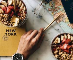 food, new york, and travel image
