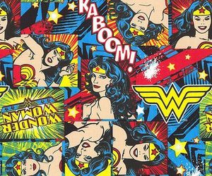 wonder woman, dc comics, and diana of themyscira image