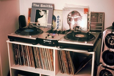 music, the smiths, and vintage image
