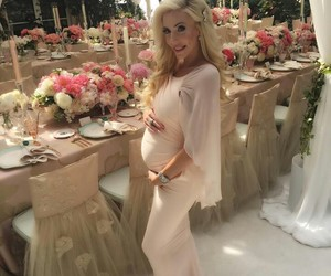 baby bump, mom, and blond image