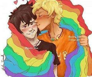 love, solangelo, and lgbt image