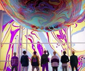 bts, DNA, and suga image