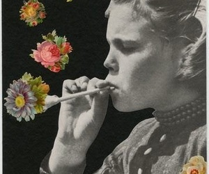 flowers, drugs, and smoke image