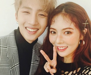 hyuna, hui, and kpop image