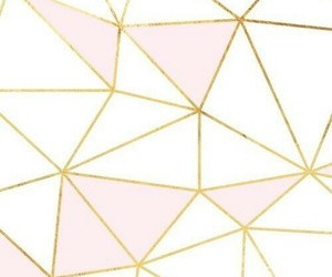wallpaper, gold, and pink image
