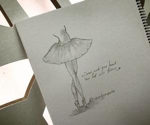 ballerina, ballet, and creative image