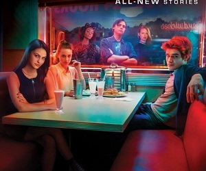 the cw and riverdale image