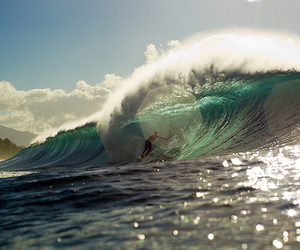 surf, waves, and summer image