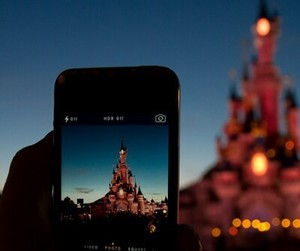 disney, iphone, and disneyland image